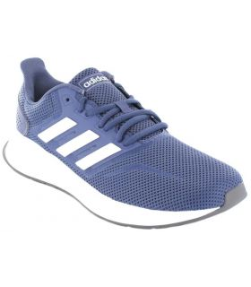 Adidas Runfalcon W Azul Zapatillas Running Mujer Zapatillas
