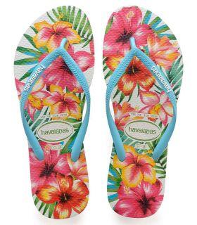 Havaianas Slim Hibisco Havaianas Tienda Sandalias / Chancletas Mujer Sandalias / Chancletas Tallas: 35 / 36, 37 / 38