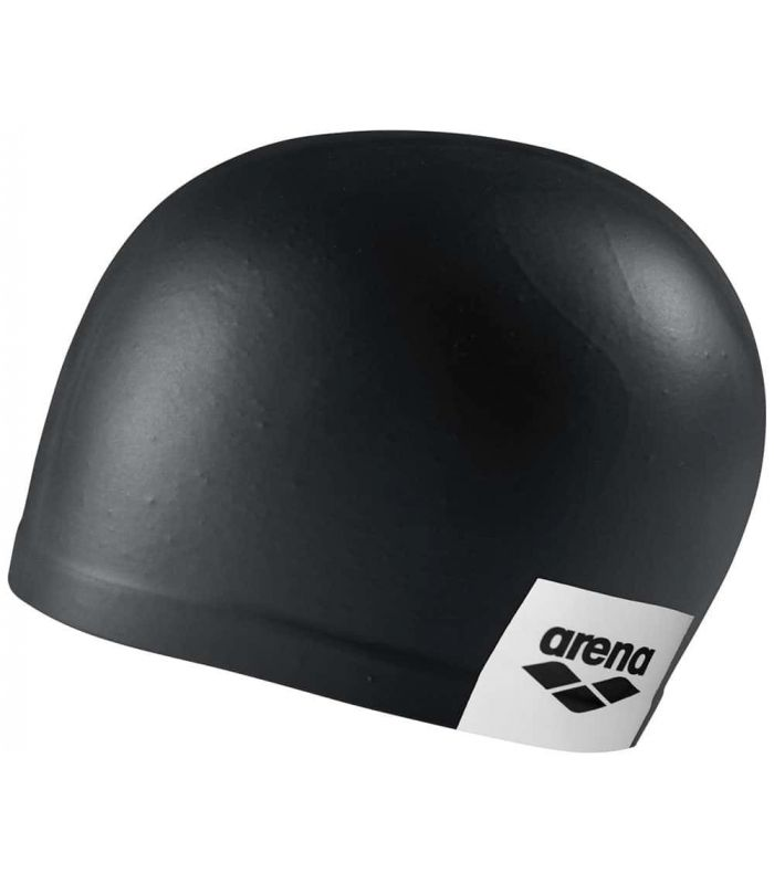 Sand Cap Swimming Logo Moulded Black - Swimming Gorros-Triathlon