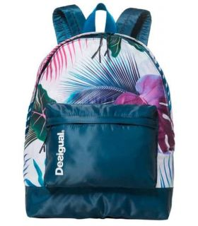 Desigual Mochila Print Tropical Bio Patching