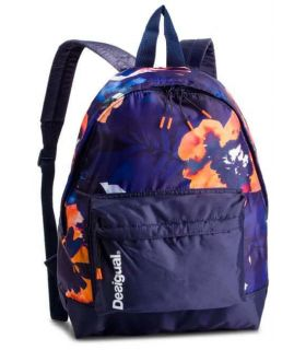 Desigual Backpack Print Botanical Camo Flower