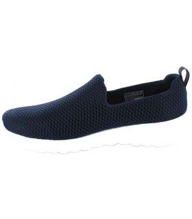 Skechers Go Walk Joy Azul Marino Skechers Calzado Casual Mujer Lifestyle Tallas: 36, 39, 40, 41; Color: azul marino