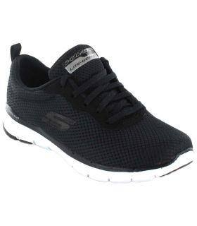 Skechers First Insight - Calzado Casual Mujer - Skechers negro 36, 37, 38, 39, 40, 41