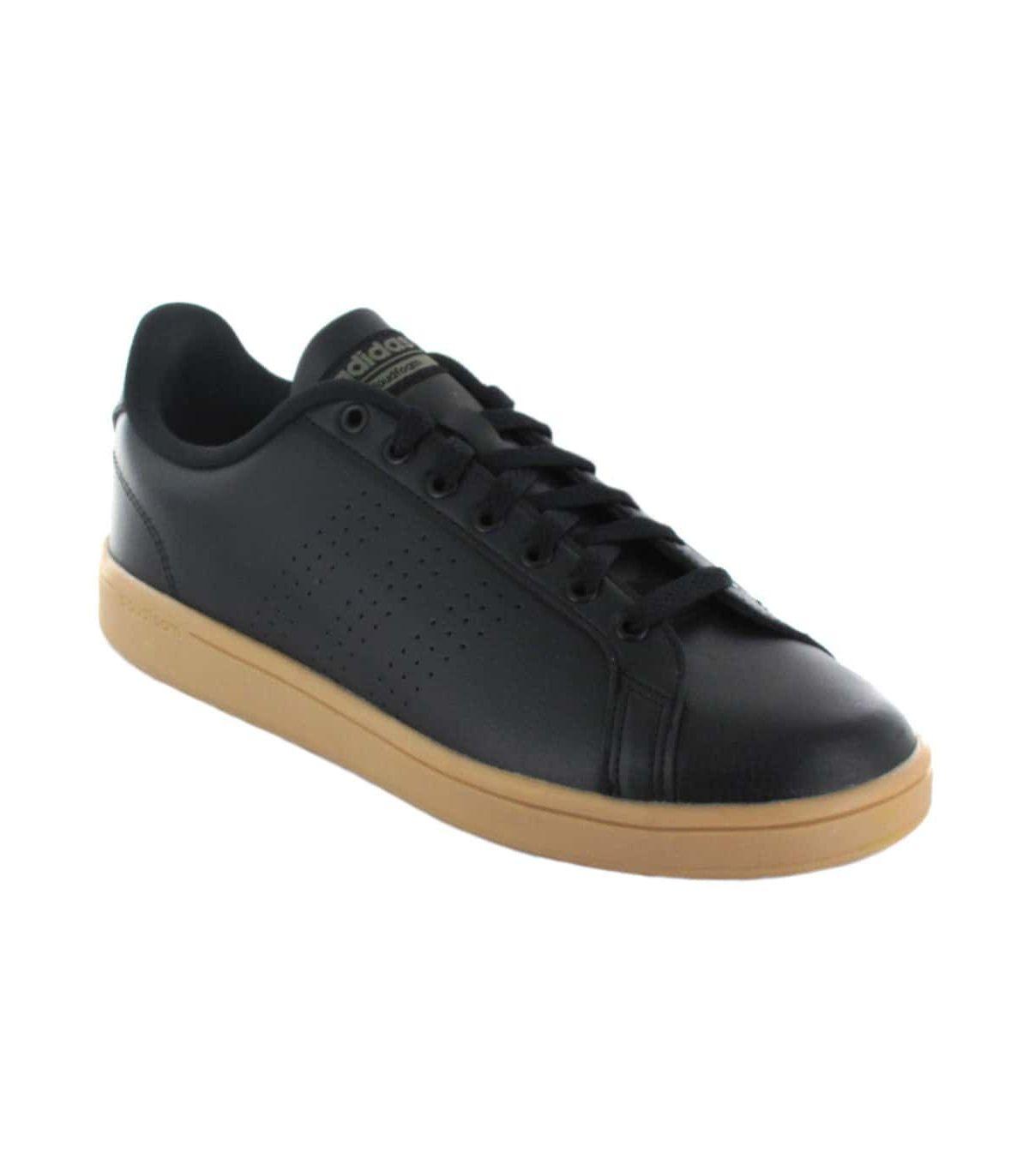 Adidas Advantage CL Negro Adidas Calzado Casual Hombre Lifestyle Tallas: 44, 44 2/3, 45 1/3, 46, 46 2/3, 43 1/3; Color: