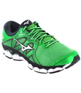 Mizuno Wave Sky 2 Verde - Zapatillas Running Hombre - Mizuno verde 41, 42, 42,5, 43, 45