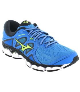 Mizuno Wave Sky 2 Azul - Zapatillas Running Hombre - Mizuno azul 40,5, 41, 42, 42,5, 43