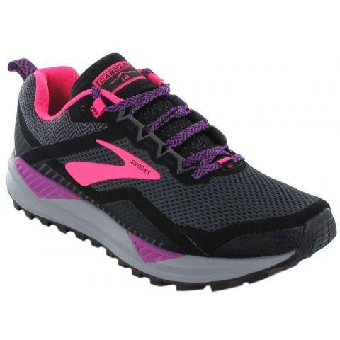 Brooks Cascadia 14 W Negro Zapatillas Trail Running Mujer