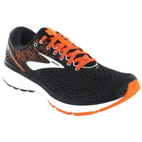 Brooks Ghost 11 Negro Naranja