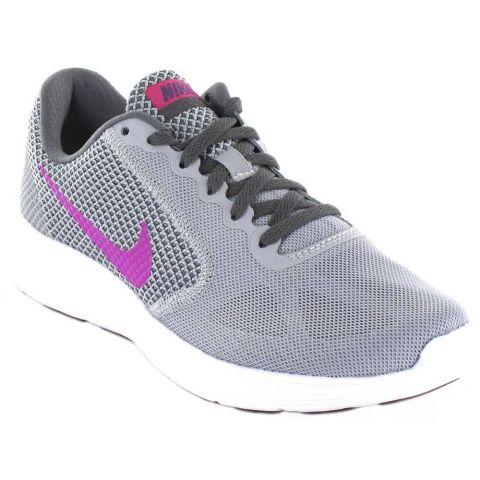 Nike Revolution 3 W 009 Nike Zapatillas Running Mujer Zapatillas Running Tallas: 37,5, 40, 40,5; Color: gris