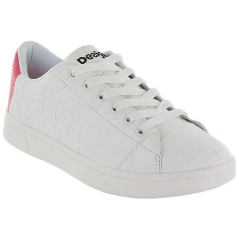 Desigual Sneakers Desigual Shoes Women's Casual Lifestyle Sizes: 36, 37, 38, 39, 40, 41; Color: white