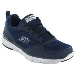 Skechers Flex Advantage 3.0 Navy Skechers Shoes Casual Man Lifestyle Sizes: 41, 42, 43, 44, 45, 46; Color: blue