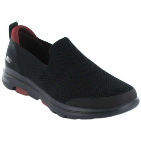 Skechers GOwalk 5 Black Skechers Casual Footwear Man Lifestyle Sizes: 41, 42, 43, 44, 45, 46; Color: black