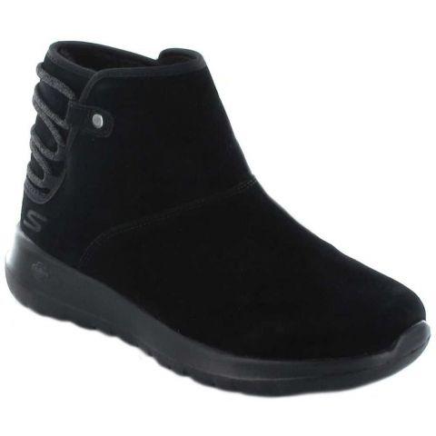 Skechers Sur L'ALLER Aglow Skechers Chaussures de Femmes de mode de Vie Décontracté Tailles: 37, 38, 39, 40, 41; Couleur: noir