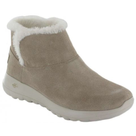 Skechers On The GO Joy Bundle Up Skechers Shoes Women's Casual Lifestyle Sizes: 37, 38, 39, 40, 41; Color: beige