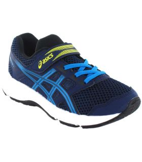 Asics Content Ps Navy Blue Asics Running Shoes Child Running Shoes Running Sizes: 30, 32,5, 33, 33,5, 35, 34,5;