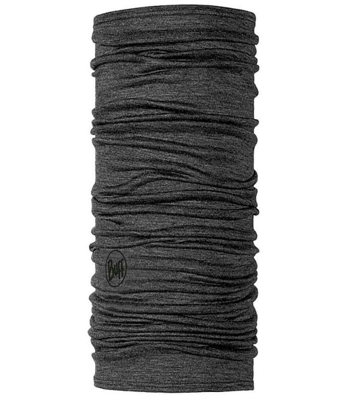 Buff Lightweight Merino Buff Solid Wool Gris Buff Buff Montaña Montaña Color: gris