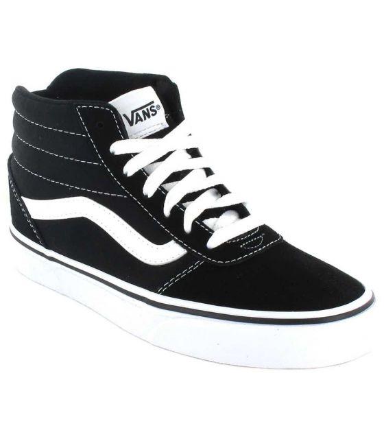 Vans Ward Hi Vans Casual Footwear Man Lifestyle Sizes: 40, 41, 42, 43, 44, 45, 46; Color: black