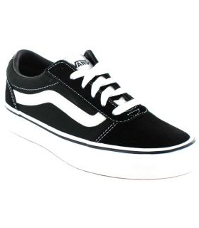 Vans Ward Y Negro Vans Calzado Casual Junior Lifestyle Tallas: 33, 34, 35, 36; Color: negro