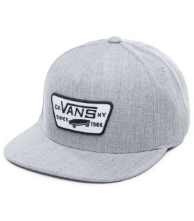 Vans Hat Full Patch Snapback Grey Vans Hats - Visors Running Textile Running Color: grey