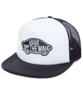 Vans Cap Classic Patch Trucker Vans Hats - Visors Running Textile Running Color: white
