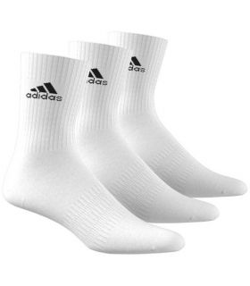 Adidas Calcetines Cushioned Blanco