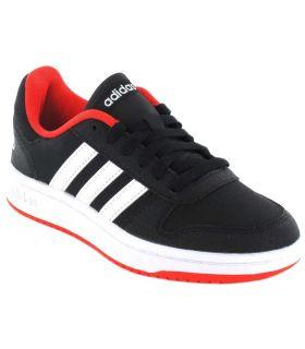 Adidas Hoops 2.0 K Negro Adidas Calzado Casual Junior Lifestyle Tallas: 35, 35,5, 36, 36 2/3, 37 1/3, 38, 38 2/3, 40;