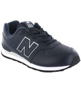 New Balance GC574ERV New Balance Shoes Casual Lifestyle Junior Sizes: 36, 37, 38, 39, 40; Color: navy blue