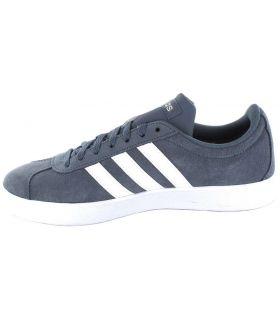 Adidas VL Court 2.0 W Azul Adidas Calzado Casual Mujer Lifestyle Tallas: 37 1/3, 38, 40, 40 2/3, 38 2/3; Color: azul
