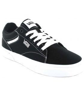 Vans Seldan Black Vans Casual Footwear Man Lifestyle Sizes: 40, 41, 42, 43, 44, 45; Color: black