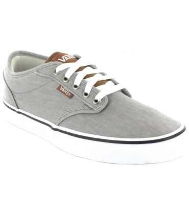 Vans Atwood Grey Vans Shoes Casual Man Lifestyle Sizes: 40, 41, 42, 43, 44, 45; Color: gray