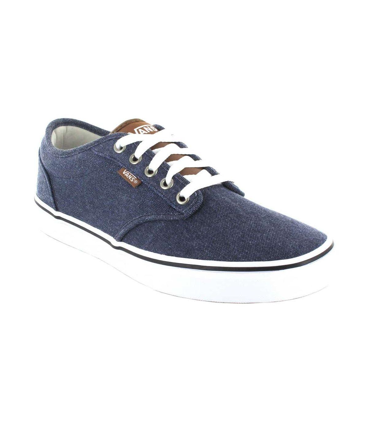 Vans Atwood Blue Vans Casual Footwear Man Lifestyle Sizes: 41, 42, 43, 44, 45; Color: blue