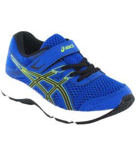 Asics Gel Contend 6 PS Azul Asics Zapatillas Running Niño Zapatillas Running Tallas: 28,5, 31,5, 32,5, 33,5, 35; Color: