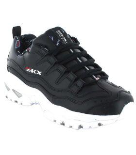 Skechers Energy Retro Vision Negro Skechers Calzado Casual Mujer Lifestyle Tallas: 37, 38, 39, 40, 41; Color: negro