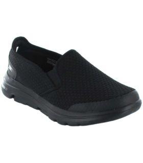 Skechers Go walk 5 Apprize Skechers Casual Footwear Man Lifestyle Sizes: 41, 42, 43, 44, 45, 46; Color: black