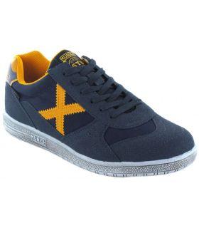 Munich G3 Jeans Navy Munich Shoes Casual Man Lifestyle Sizes: 41, 42, 43, 44, 45, 46; Color: navy blue