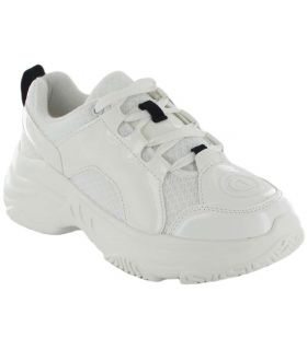 Desigual Chunky Blanco Desigual Calzado Casual Mujer Lifestyle Tallas: 36, 37, 38, 39, 40, 41; Color: blanco