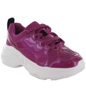 Uneven Chunky Fuchsia Desigual Shoes Women's Casual Lifestyle Sizes: 36, 37, 38, 39, 40, 41; Color: fuchsia