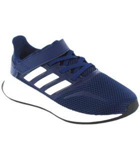 Adidas Run Falcon C Navy Blue Adidas Running Shoes Child Running Shoes Running Sizes: 28, 29, 30, 31, 32, 33, 34
