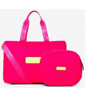 Desigual Bolsa de gimnasio 2 en 1 Fucsia Desigual Mochilas - Bolsas Running Color: fucsia