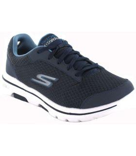 Skechers GOwalk 5 Qualify Skechers Casual Footwear Man Lifestyle Sizes: 40, 41, 42, 43, 44, 45, 46; Color: blue