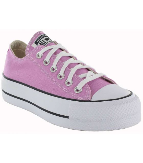Converse Chuck Taylor All Star Lift Peony Pink Converse Shoes Women's Casual Lifestyle Sizes: 35, 36, 37, 38, 39, 40;