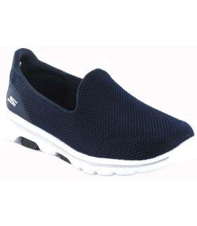 Skechers Go Walk 5 W Navy Skechers Shoes Women's Casual Lifestyle Sizes: 39, 40, 41, 37, 38; Color: navy blue