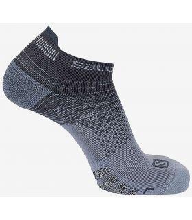 Salomon Socks Predict Low Grey Salomon Socks Running Shoes Running Sizes: 39 / 41, 42 / 44; Color: gray