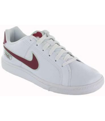 Nike Cour Royale Vday W 100 Nike Chaussures de Femmes de mode de Vie Décontracté Tailles: 38, 39, 40, 41, 37,5; Couleur: blanc