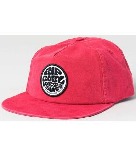 Rip Curl Cap, Washed Wetty SB Rip Curl Hats - Visors Running Textile Running Color: red
