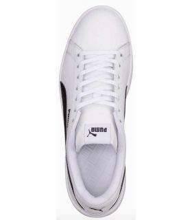 Puma Smash v2 L BN Puma Calzado Casual Hombre Lifestyle Tallas: 41, 42, 43, 44, 45, 46; Color: blanco