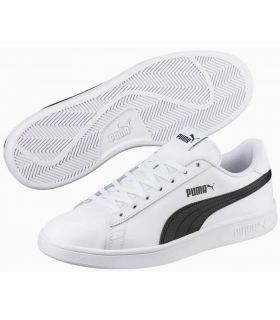Puma Smash v2 L BN Puma Shoes Casual Man Lifestyle Sizes: 41, 42, 43, 44, 45, 46; Color: white