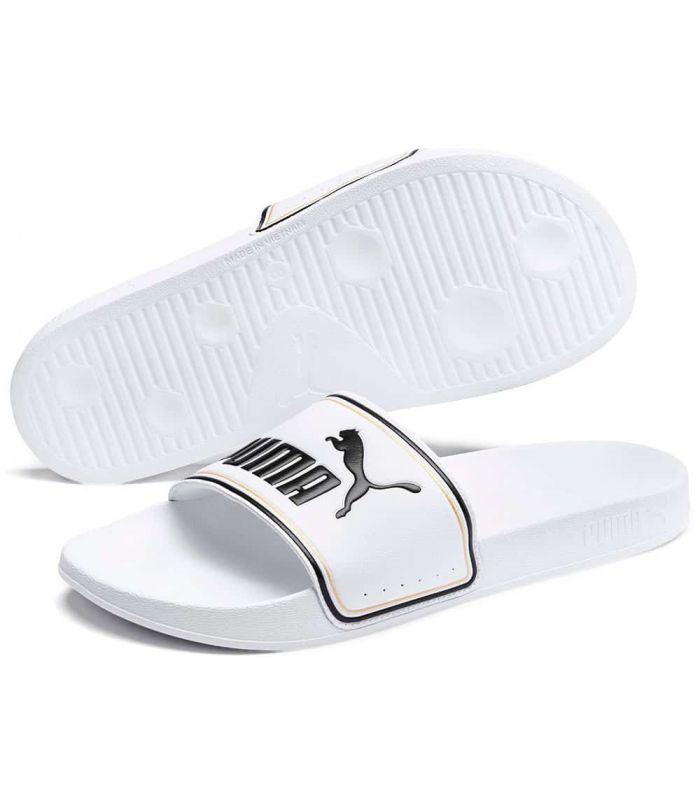 Puma flip Flops Leadcat FTR White - Shop Sandals/Man Chancets