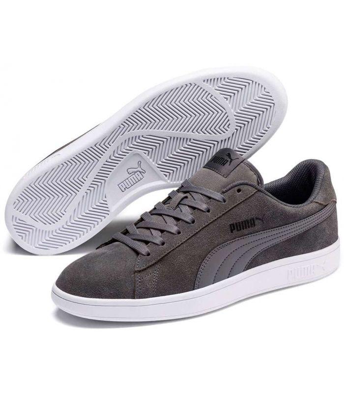 Puma Smash v2 Grey - Casual Footwear Man