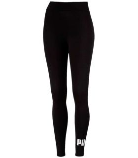 Puma Essentials Logo Leggings Negro Puma Mallas running Textil Running Tallas: xs, s, m, l; Color: negro